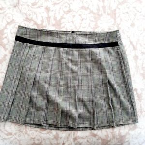 LIP SERVICE le metal skirl girl sz 14 skirt